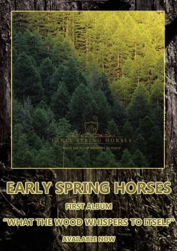 Early Spring horses nouvel album