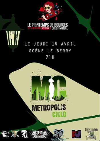 Metropolis child au printemps de bourges