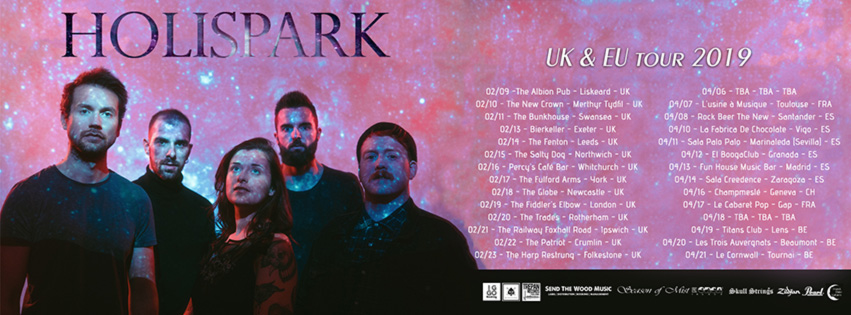 Holispark Tour UK ES 2019