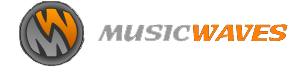 music waves logo